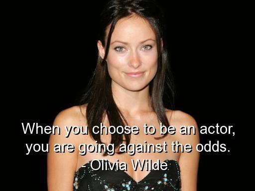 Olivia Wilde's quote #7