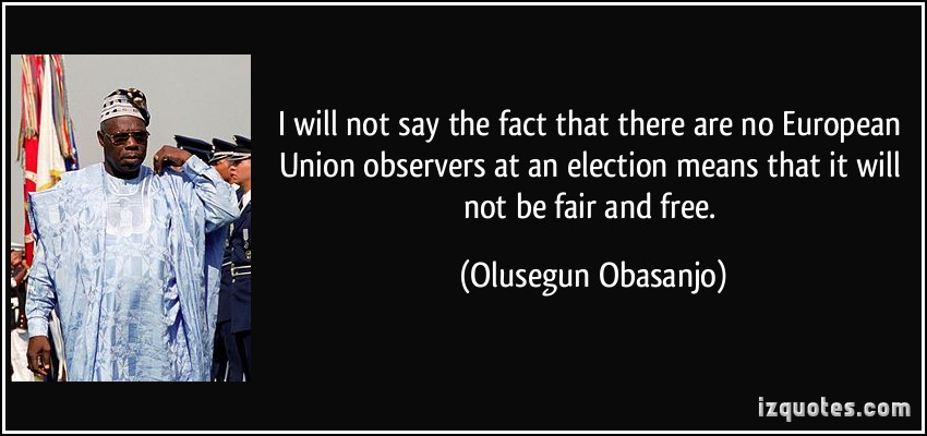 Olusegun Obasanjo's quote #3