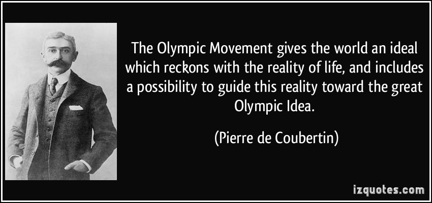 Olympic Movement quote #2