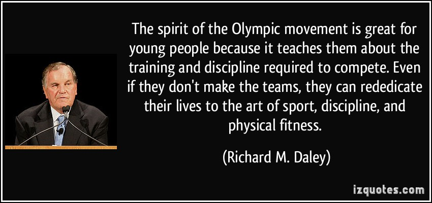 Olympic Movement quote #1