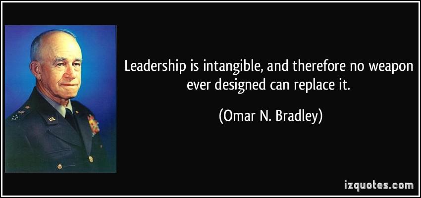 Omar N. Bradley's quote #7