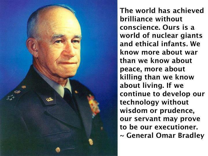 Omar N. Bradley's quote #4