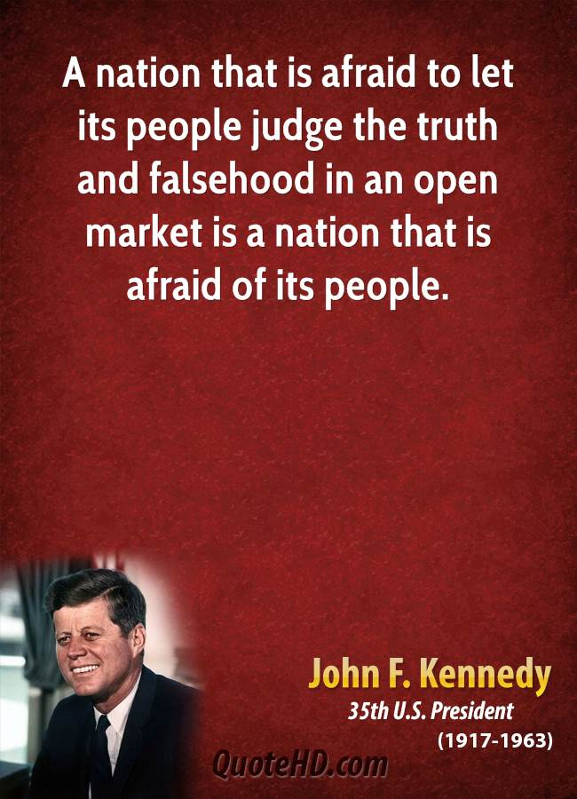 Open Markets quote #2