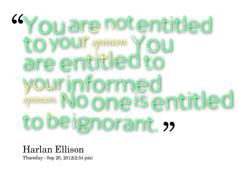 Opinions quote #5