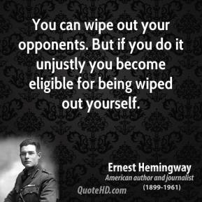 Opponents quote #1
