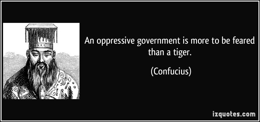 Oppressive quote #1