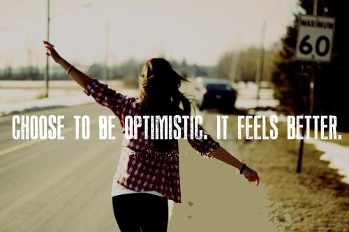 Optimistic quote #4
