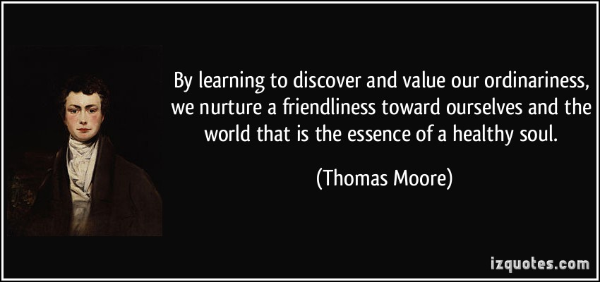 Ordinariness quote #2
