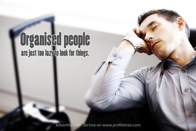 Organised quote #1