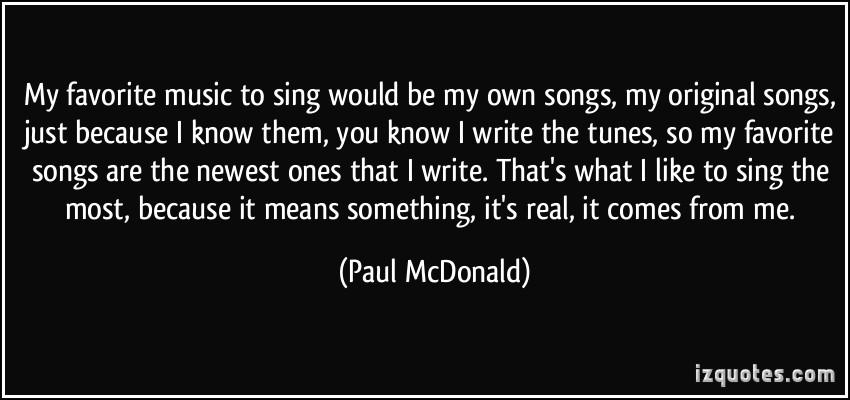 Original Music quote #2