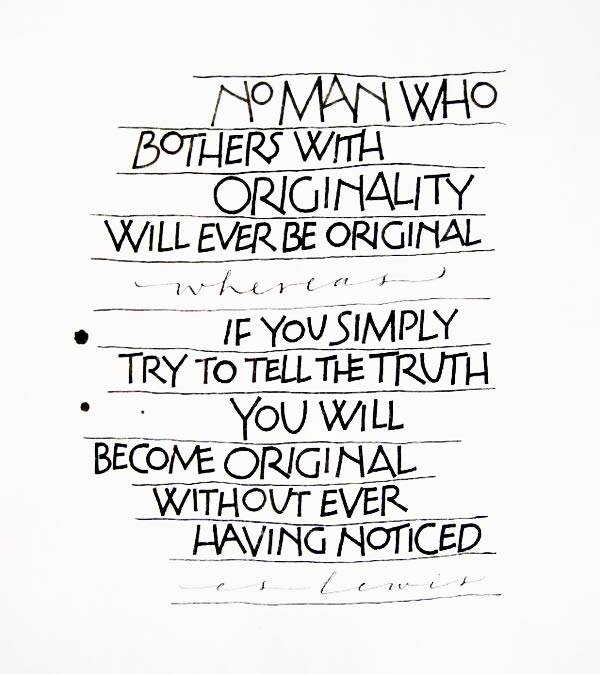 Originality quote #2