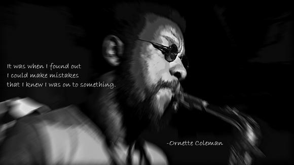 Ornette Coleman's quote #7