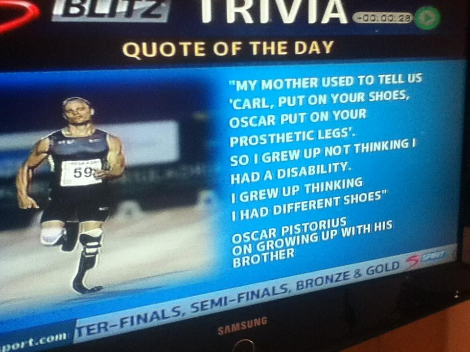 Oscar Pistorius's quote #5