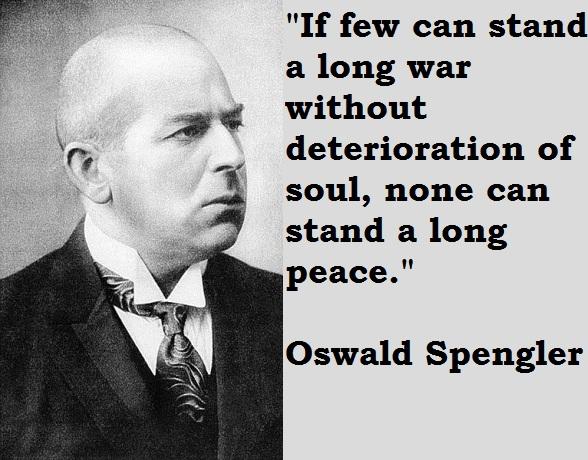 Oswald Spengler's quote #1