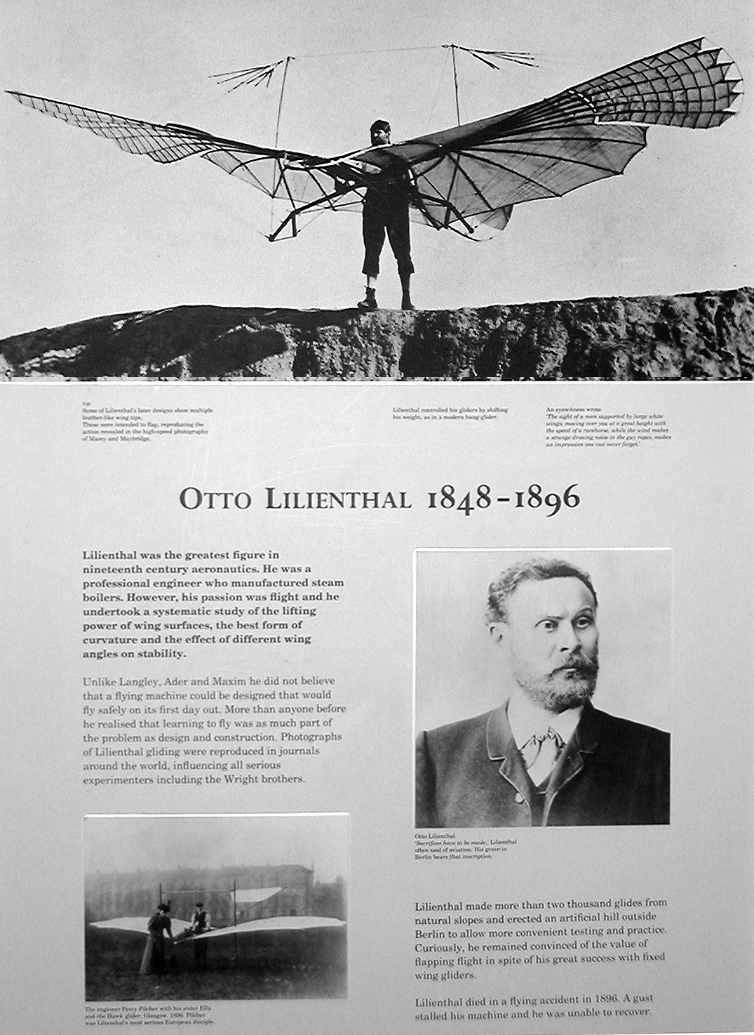 Quotes Otto Lilienthal Otto Lilienthal Biography