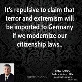 Otto Schily's quote #4