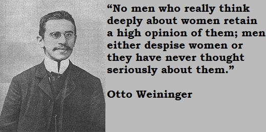 Otto Weininger's quote #2