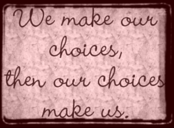Our Choice quote #1