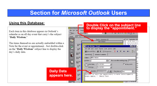 Outlook quote #5