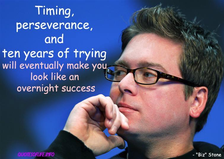 Overnight Success quote #1