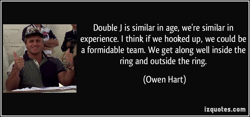 Owen Hart's quote #5