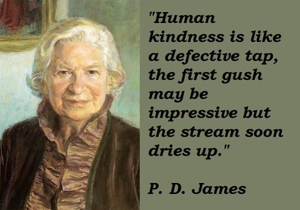 P. D. James's quote #3