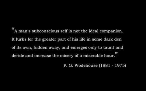 P. G. Wodehouse's quote #3