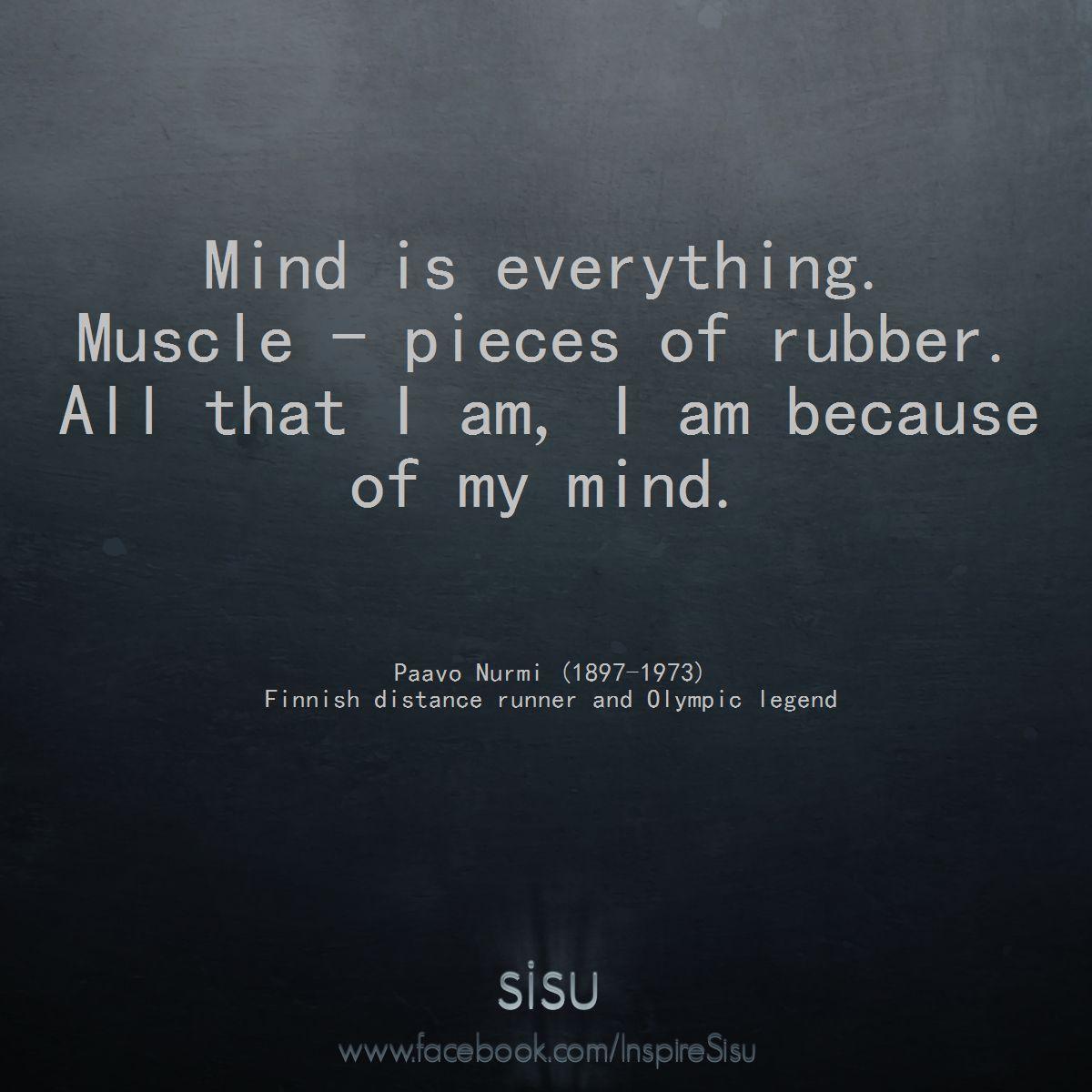 Paavo Nurmi's quote #1