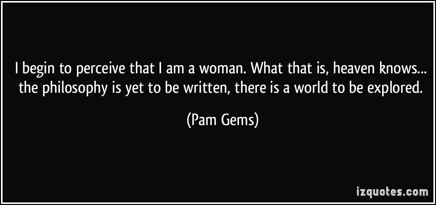 Pam Gems's quote #7
