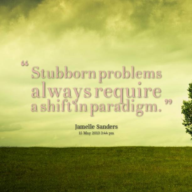 Paradigm quote #1