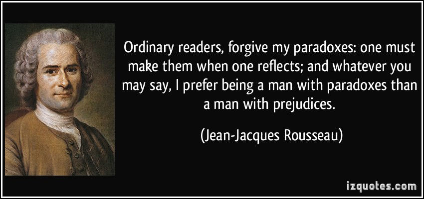Paradoxes quote #1