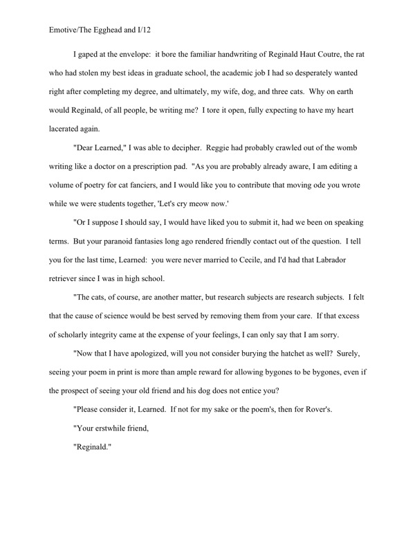 Write an opinion essay on one of the quotations