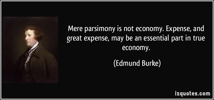 Parsimony quote #1