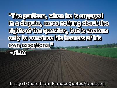 Partisan quote #1