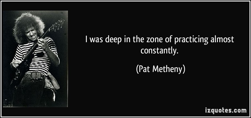 Pat Metheny's quote #2