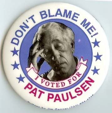 Pat Paulsen's quote #3