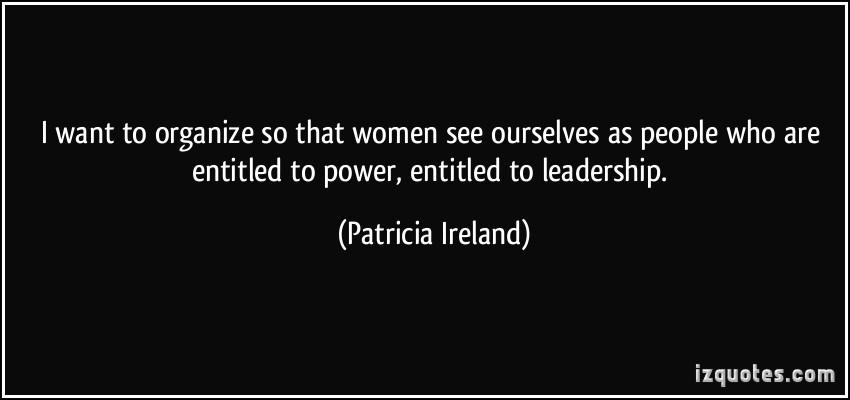 Patricia Ireland's quote #4