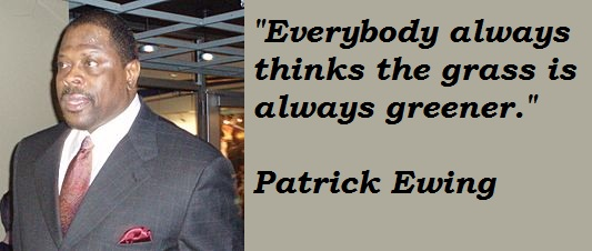 Patrick Ewing's quote #8