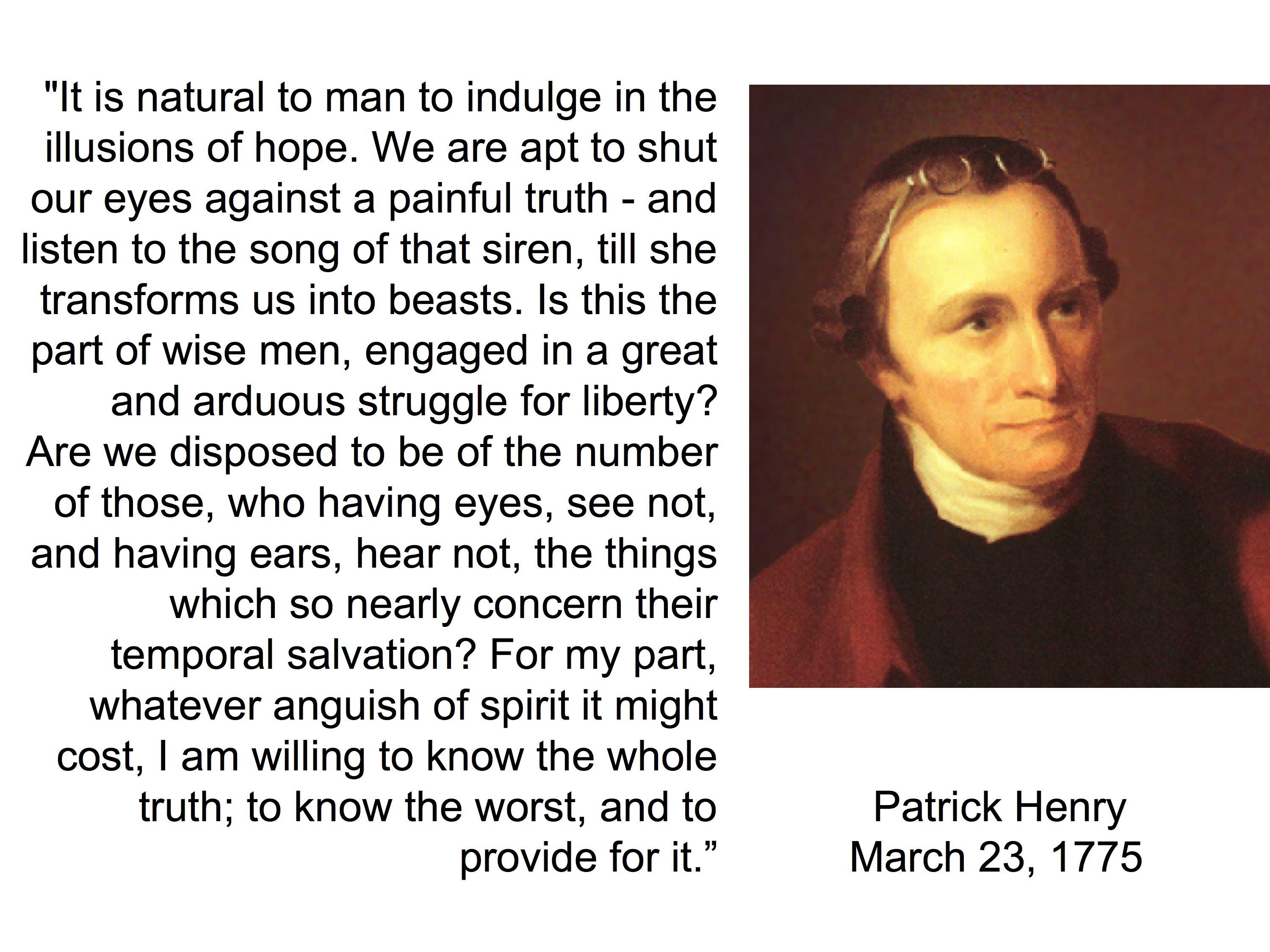 Patrick Henry's quote #6