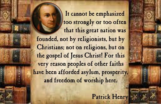 Patrick Henry's quote