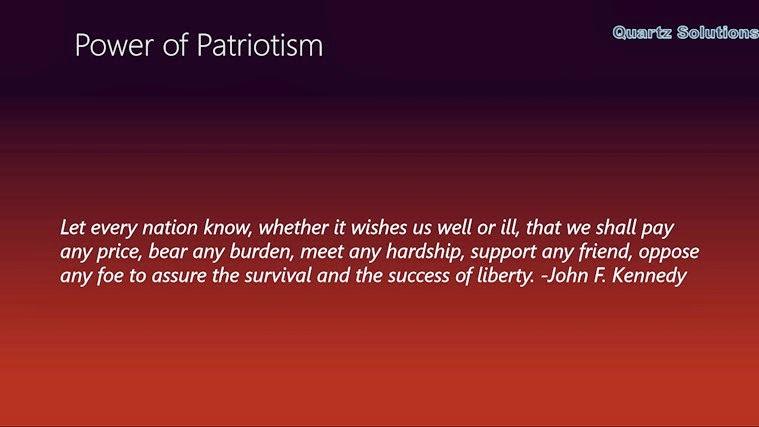 Patriotism quote #8