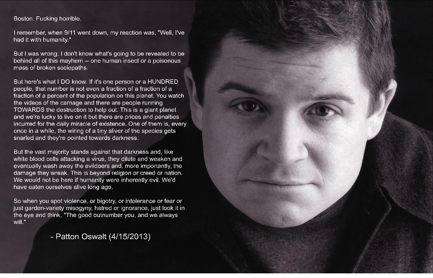 Patton Oswalt's quote #6