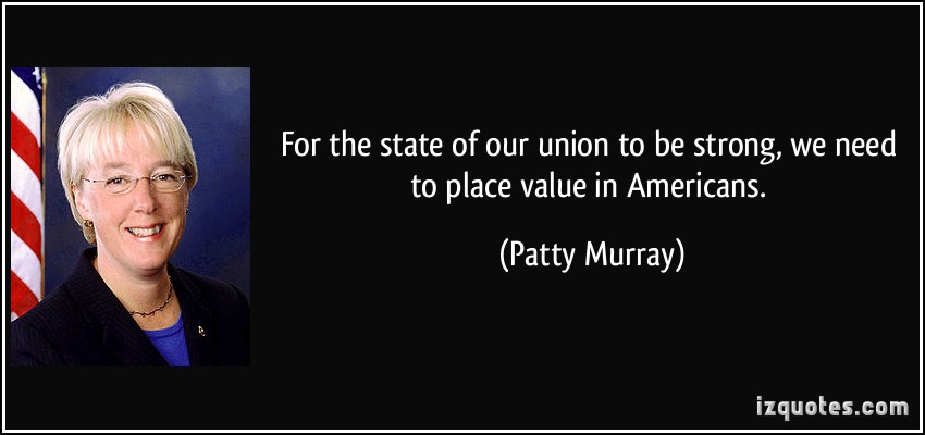 Patty Murray's quote