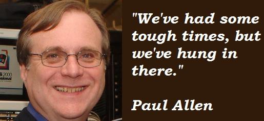 Paul Allen's quote #3