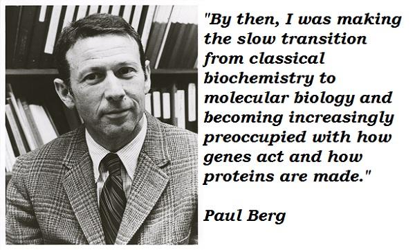 Paul Berg's quote #4