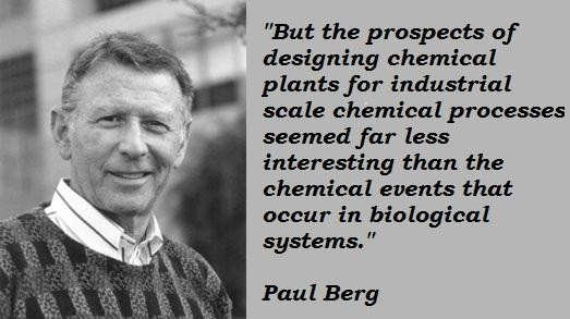Paul Berg's quote #3