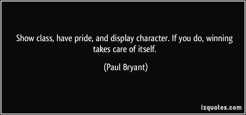 Paul Bryant's quote #2