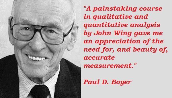 Paul D. Boyer's quote #7