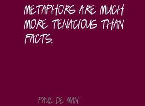 Paul de Man's quote #4