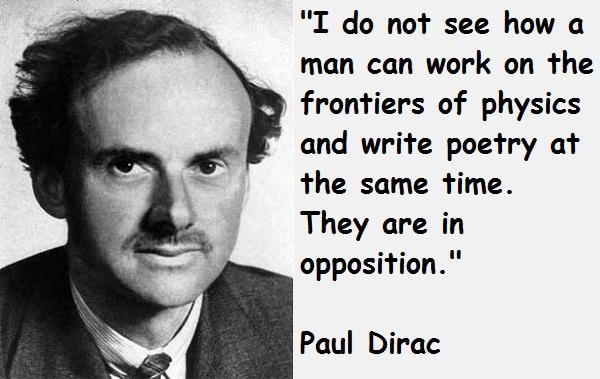 Paul Dirac's quote #7